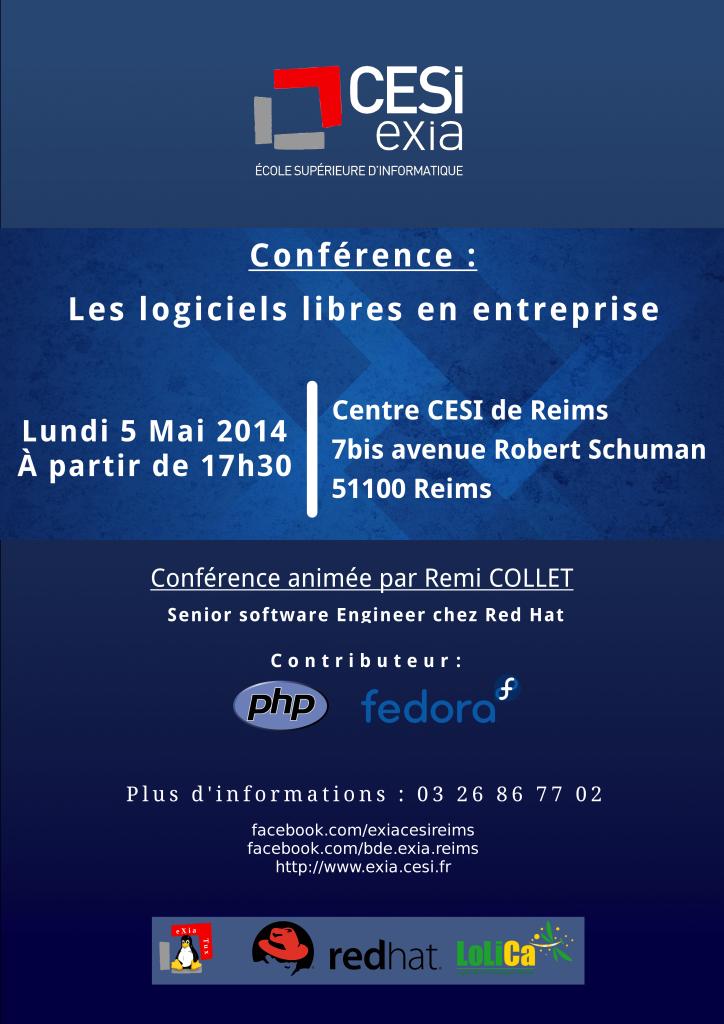 Conférence du 5 Mai 2014