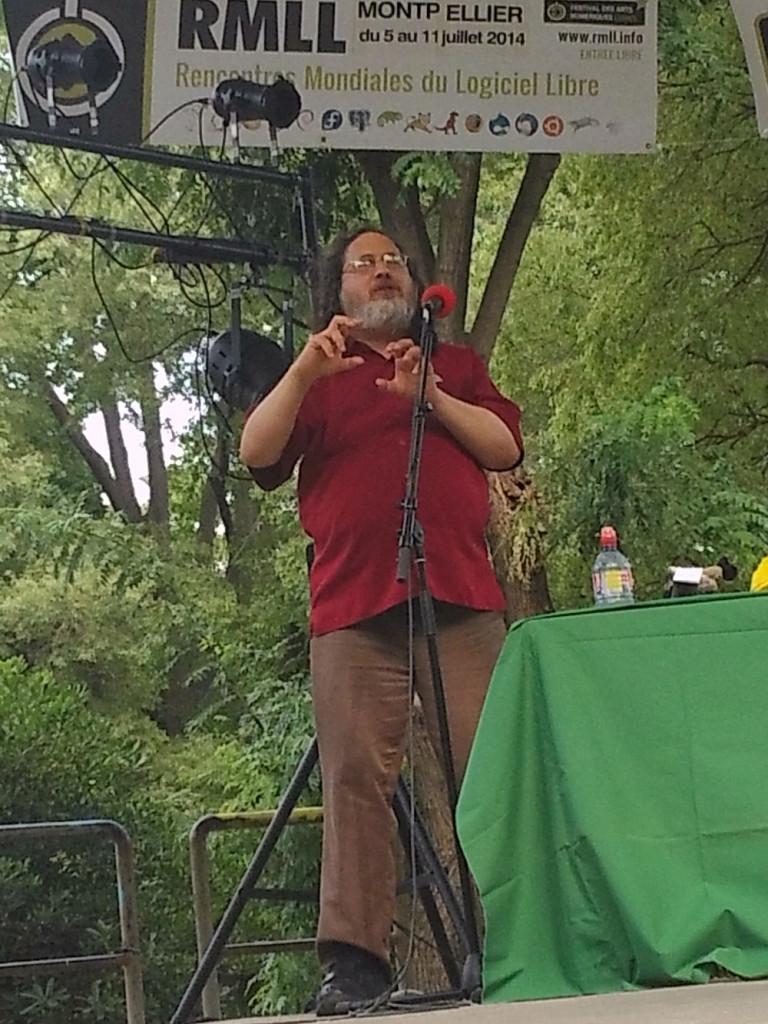 Richard Stallman - RMLL 2014